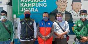 Tenaga Pendamping Profesional Desa, KNPI dan PAC PKB Kecamatan Cariu, Bagikan Ketahanan Pangan Kepada Masyarakat Terdampak Covid-19