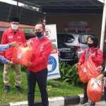 Dukung Tim Medis RSUD, PSI Kota Bogor dan LSM MRB Sumbang APD dan Masker