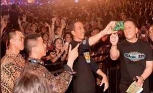 Hoaks, Foto Jokowi Hadir di Lokasi Konser Amal BPIP