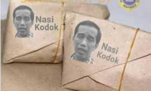 Beredar Foto Wajah Jokowi Terpampang di Nasi Bungkus Bertuliskan 'Nasi Kodok', Ini Faktanya