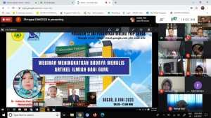 Program Studi Pendidikan Biologi Universitas Pakuan menyelenggarakan Webinar