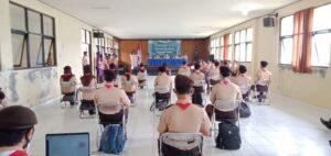 Pramuka Kwartir Cabang Kabupaten Bogor menggelar Diklat Tata Acara dan Upacara.