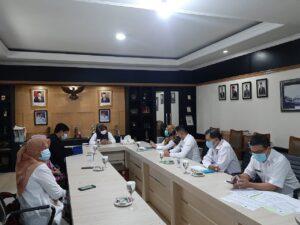 P3D Audiensi dengan Sekda Kota Bogor