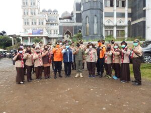 Kwarcab Bogor Ikuti Apel Gabungan Pengamanan Tahun Baru
