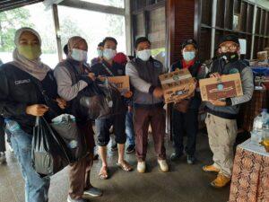 Forum Komunikasi P4GN Kabupaten Bogor Berikan Bantuan untuk Korban Banjir Bandang Puncak