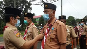Lantik Ketua Kwarran Cigudeg, Ketua Kwarcab Bogor: Tanggung Jawab Kita Besar