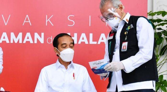 Presiden Jokowi Sudah Divaksin Covid-19