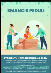 SMAN 1 Cisarua Open Donasi untuk Banjir Bandang Puncak