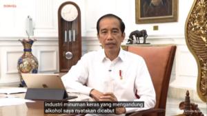 Presiden Jokowi. (Youtube Sekretariat Presiden)