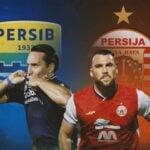 Persib Bandung dan Persija Jakarta. (Foto: Bola.com)