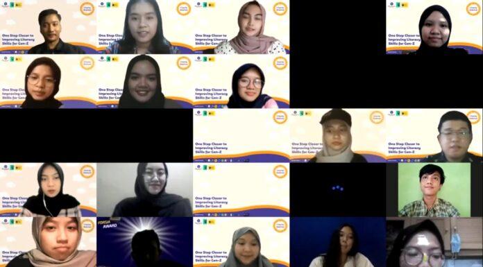 Charity webinar Himasiera berkolaborasi dengan Lekas Pinjam ID.