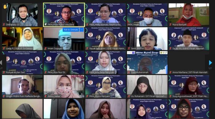 Program Studi Teknologi Pendidikan Pascasarjana UNJ Menggelar Webinar Pengabdian Kepada Masyarakat